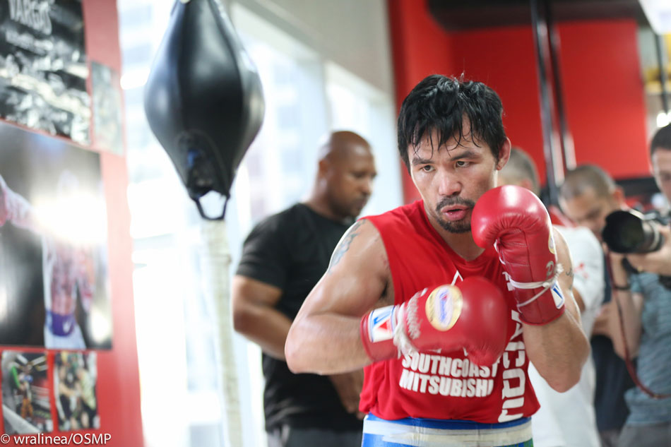 Pacquiao in confident mood ahead of Horn fight