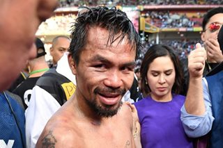 Jinkee planning to ask Manny to retire from boxing after loss