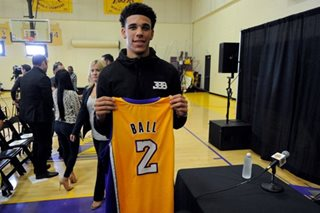 Lakers ink Lonzo Ball to four-year deal