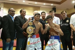 Boxing: Pinoy boxer loses in minimumweight title tiff vs Thai champ
