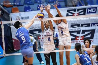 PVL: Air Force outlast Bali Pure for 2nd straight win