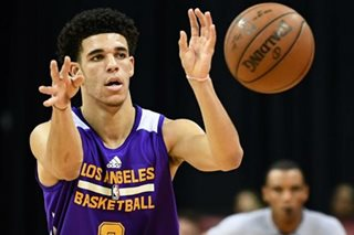 Lakers rookie Lonzo Ball plans to visit PH 'next summer'