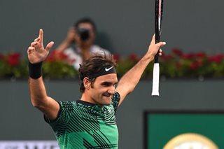Federer plays first post-Wimbledon match Wednesday