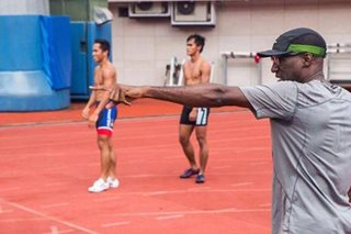 American coach tells PH track and field athletes: Dream bigger than SEA Games
