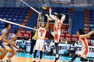 Volley Bolt, HD Spikers score separate sweeps to stay 1-2