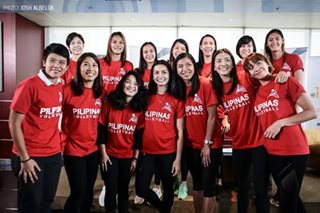 National women's volleyball team back in PH after 'fruitful' camp in Japan