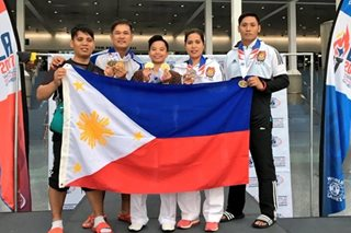 PNP's taekwondo team come up big in World Police and Fire Games