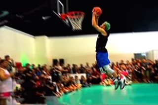 WATCH: Pro slam dunker wows crowd in History Con 2017