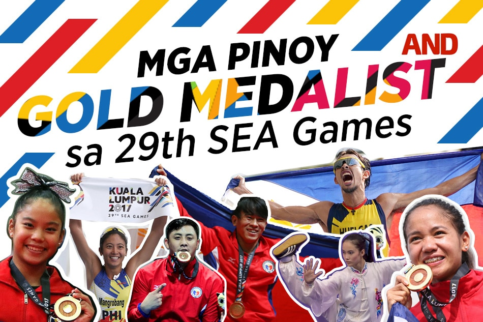 Mga Pinoy gold medalist sa 29th SEA Games | ABS-CBN News