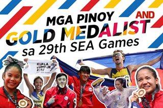 Mga Pinoy gold medalist sa 29th SEA Games
