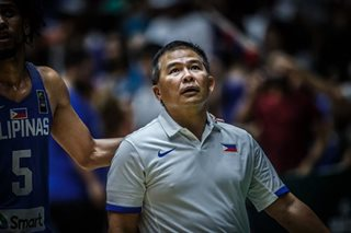 Setback at tune-up irks Chot, as Gilas readies for FIBA World Cup qualifiers