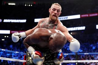 McGregor landed more than Pacquiao against Floyd
