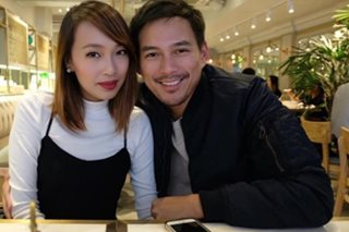 Guji Lorenzana met wife through Tinder