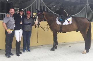 SEA Games: Syquia rules showjumping for PH's 23rd gold