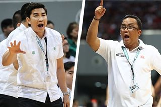 Coaches Jarin, Ayo start psywar ahead of NU-La Salle clash