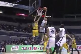 WATCH: Adamson's Tyrus Hill pulls off early candidate for dunk of the year