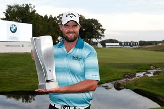 Leishman fends off Rose challenge to win BMW Championship