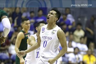 Ateneo's Ravena earns UAAP Player of the Week nod