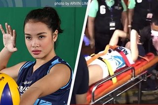 Adamson's Galanza uncertain for Season 80 after gruesome injury