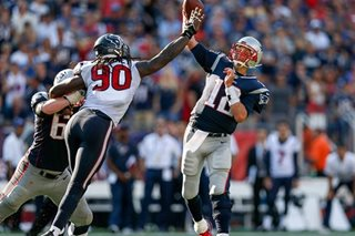 Brady magic rescues Patriots, Falcons march on