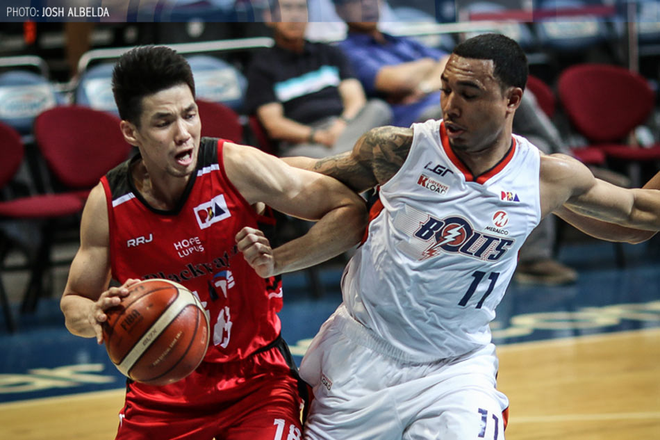 Blackwater Elite stuns Meralco, extends quarterfinal series, 92-91