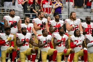 NFL players kneel after fresh Trump call