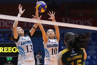 PVL: Lady Falcons shock Lady Tams, a win away from Finals