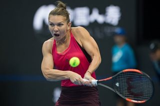 Halep knocks error-prone Sharapova out of China Open