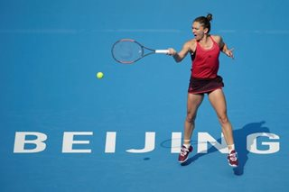Tennis: Simona Halep powers to world No. 1, as she enters Beijing final