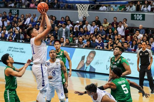 ANC Hardball: Blue Eagles share thoughts about Green Archers' performance