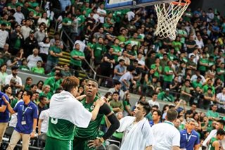 Mbala laments La Salle's poor execution in crunch time