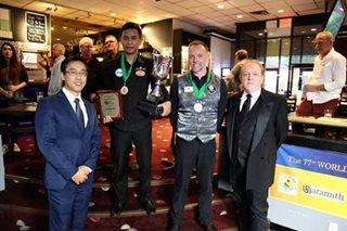 Billiards: Corteza becomes 1st Asian to win World 14.1 Straight Pool title
