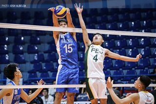Ateneo sweeps FEU for 1-0 lead in PVL men's volleyball finals