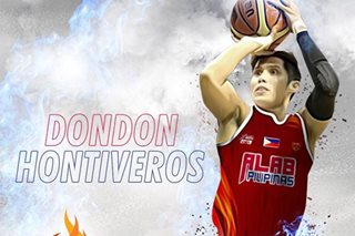 Dondon Hontiveros' basketball journey continues in Alab Pilipinas
