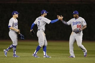 Baseball: Win over Cubs puts Dodgers on brink of World Series berth