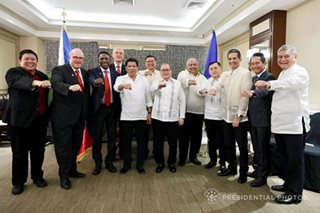 Duterte backs PH hosting bid for 2023 FIBA World Cup