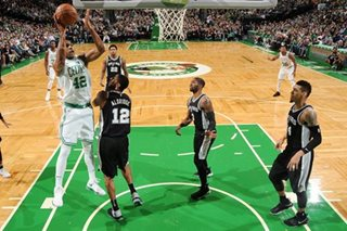 Celtics snap losing streak to injury-hit Spurs
