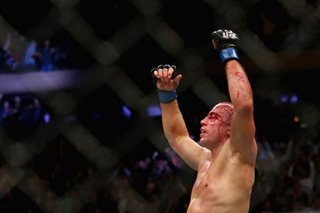 St-Pierre wins middleweight title on octagon return