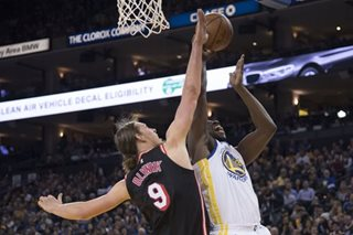 NBA: Green, Durant star as Warriors put Heat on ice