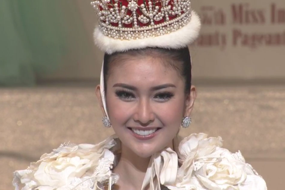 screengrab from miss international 2017 livestream