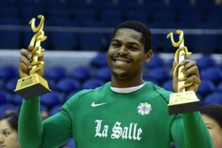 La Salle's Mbala fires back as MVP debate rages on