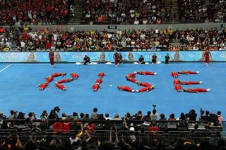 UAAP cheerdance: UE rises to cloud 9 after podium finish