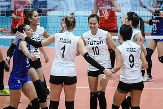 Superliga: Dethroned champs Foton salvages 3rd place finish