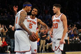 Beasley fuels Knicks upset of Celtics, Cavs and Raptors win