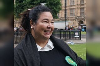 Carmen Legarda is first Pinay to run for UK parliament