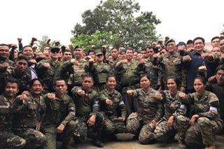 Duterte: Female soldiers who fought in Marawi now in HK