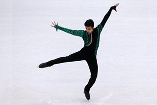 Pinoy skater Michael Martinez falls two spots short, misses cut for Winter Olympics