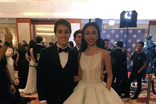 LOOK: Maymay, Edward at the Star Magic Ball for the first time