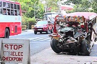 Bus driver na kasalpukan ng jeep sa Agoo, pansamantalang nakalaya