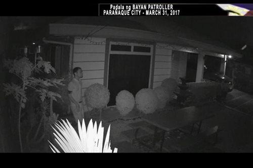 Huli sa CCTV: Panloloob sa bahay sa Paranaque subdivision